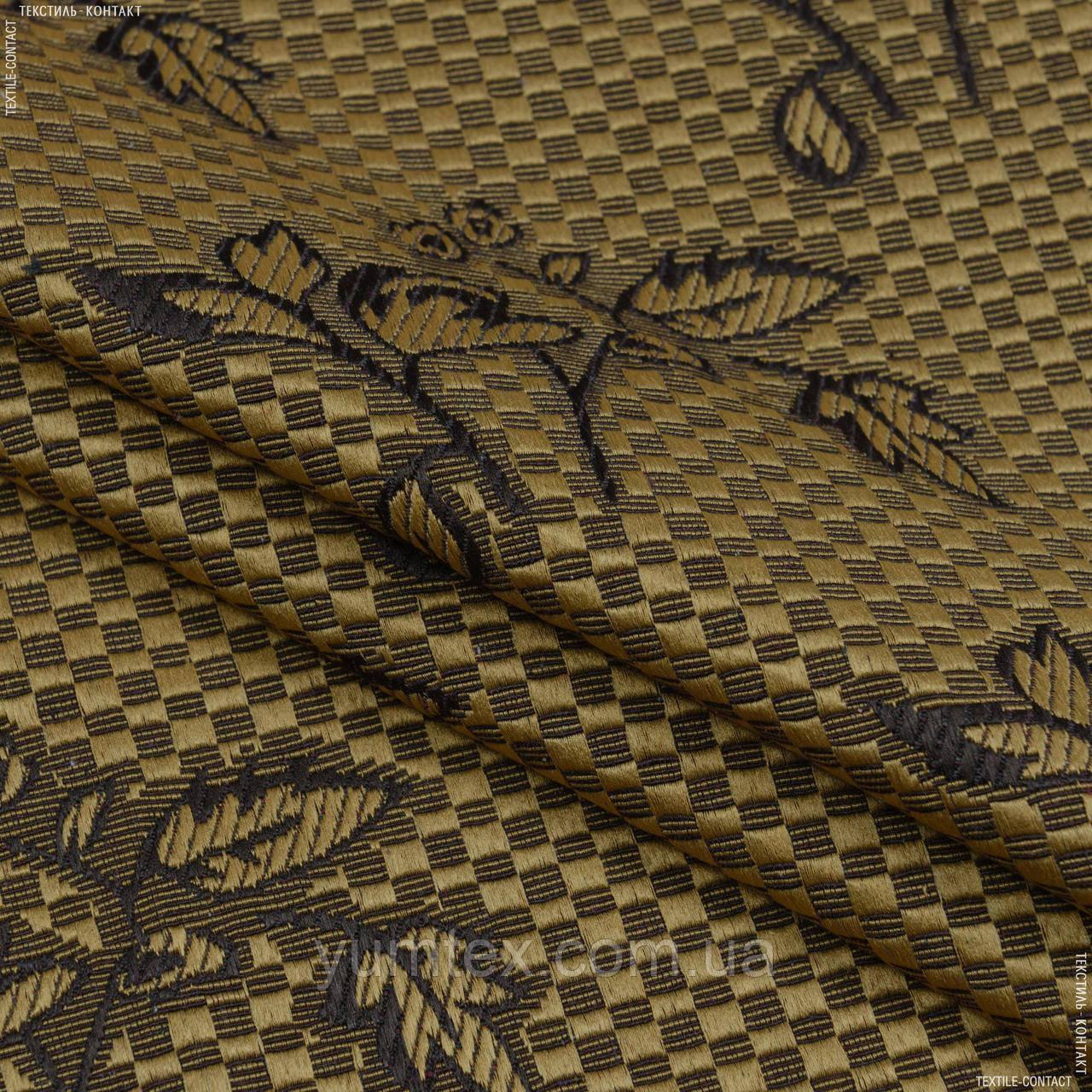 Декор-гобелен  букетик старое золото,коричневый 145177