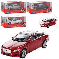 Машинка 43652CW (24шт) металл, инер-я, 11,5см, рез. колеса, двери открыв, 4цв, в кор-ке, 15-7-7см
