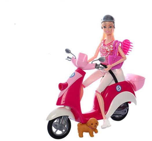 Кукла с мотоциклом 5533
