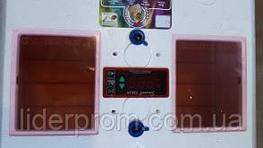 Инкубатор Рябушка SMART plusавтоматический переворот 100 яиц, цифровой, ТЭН, фото 3