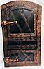Дверца печная арочная металлическая 560х345 дута