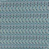 Гобелен скандинавія-2 синій,т. блакитний,оливка 145019, фото 2