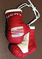 Перчатки боксерские сувенир подвеска в авто SEAT