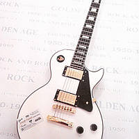Электрогитара Gibson Les Paul Custom White Alpine China
