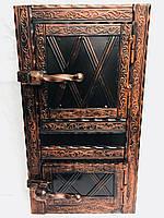 Дверца печная металлическая 550х345 дута