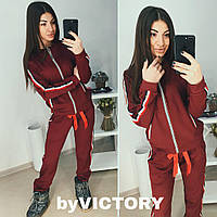 90378f9a Женский спортивный костюм с широким лампасом в расцветках. АС-14 ...