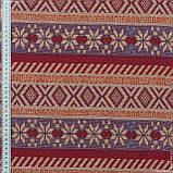Гобелен орнамент-136 крем,фіолетовий,червоний 145133, фото 3