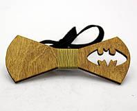 Деревянные галстуки бабочки bat-man WBT-5