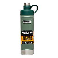 Термобутылка Stanley Classic 0.75 л, зеленая, фото 1