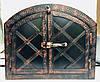 "Дверка для хлебной печи арка метал ""3"" мм .Дута 330х430"