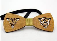Деревянные галстуки бабочки celtic  WBT-7