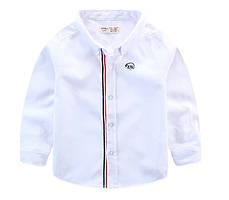 Рубашка Мишка (бел) 150