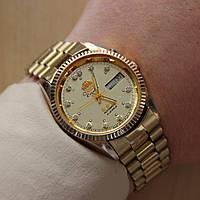 Orient Ориент мужские часы на браслете Япония