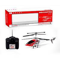 Вертолет H002 (12шт) р/у,аккум,42см,гироскоп,свет,зап.лопасть,в кор-ке,66-24,5-10см