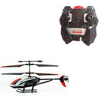 Вертолет 305 (12шт) р/у,аккум,27см,свет,гироскоп,запасн.лопасти,USBзарядн,в кор-ке,51,5-20-8см