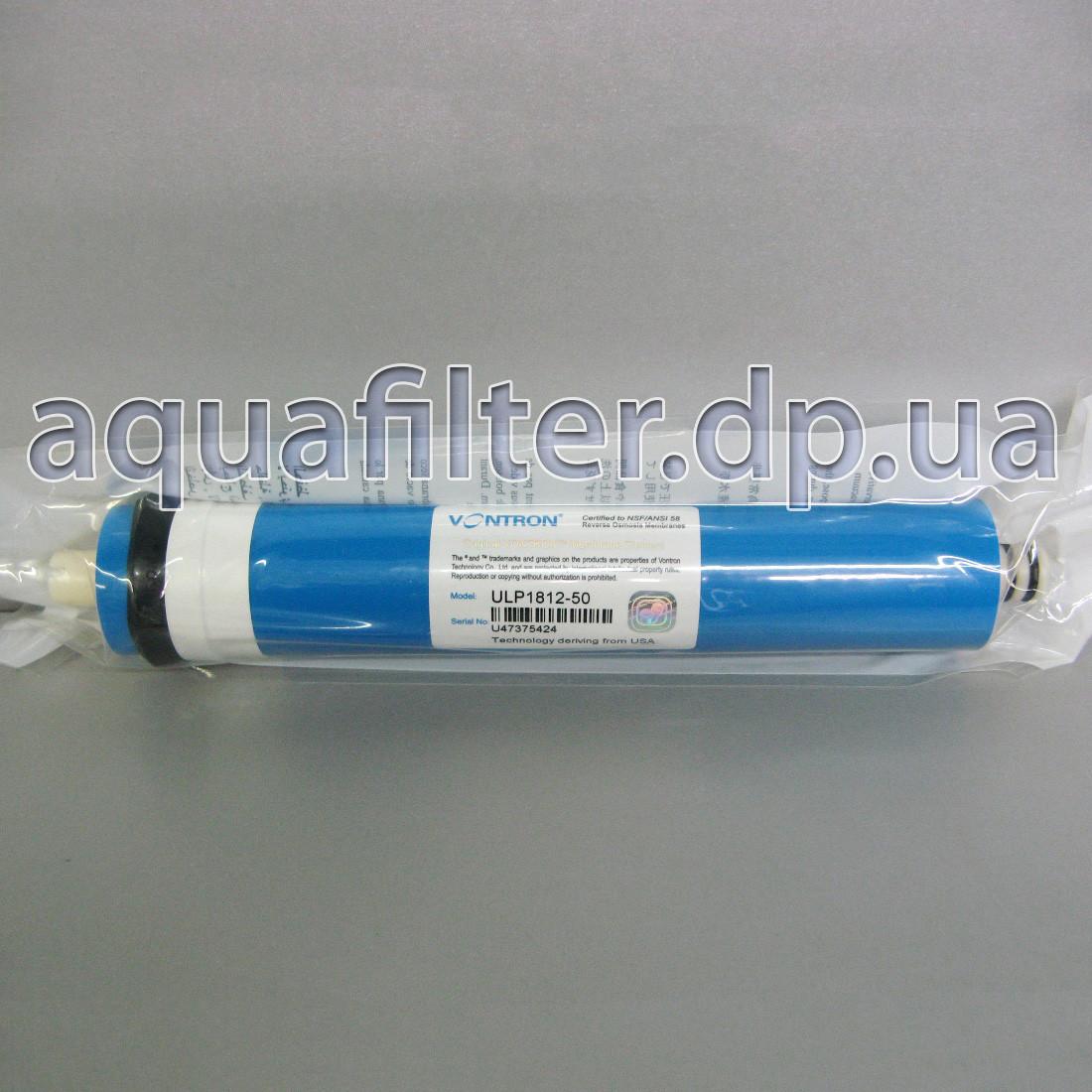 Мембрана обратного осмоса Vontron ULP1812-50 GPD Китай оригинал