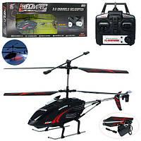 Вертолет 507 (6шт) р/у,аккум,39см,свет,гироскоп,3,5канала,запасн.лопасти,в кор-ке,64-25-10см
