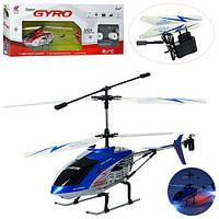 Вертолет 505 (6шт) р/у, аккум,39см,свет,гироскоп,3,5канала,зап.лопасти,2цвета,в кор-ке, 64-25-10см