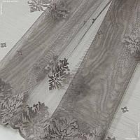 Гардинное полотно гипюр  лилия сизый 144864, фото 1