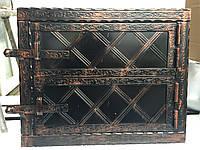 "Дверца для хлебной печи метал ""3"" мм 530х430мм"