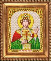 """Схема для вышивки бисером, именная икона """"Святая Мученица Царица Александра"""" И-5134"""