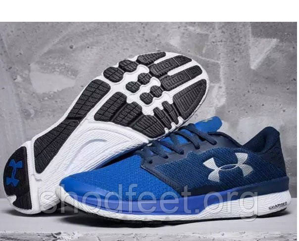 Мужские кроссовки Under Armour Charged Reckless Running Blue White