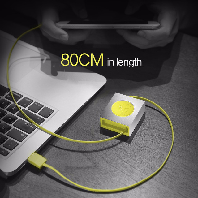 Retractable Charge & Sync Lightning Cable
