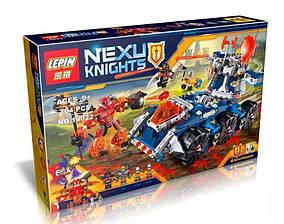Конструктор Lepin 14022 Нексо Найтс Башенный тягач Акселя (аналог Lego Nexo Knights 70322)