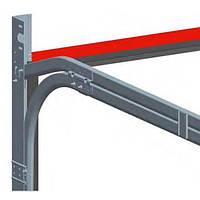 Профиль передний (нащельник) PRG05S для гаражных ворот ролет Alutech