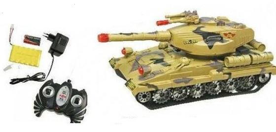 Танк на радиоуправлении «Боевой танк» 9354
