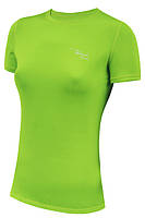 Спортивная женская футболка Radical Capri салатовая