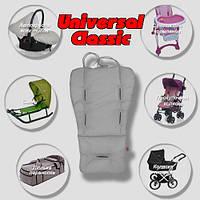 Матрасик в коляску - трансформер «Universal» Premium (разные цвета)  (Скидка на доставку Новой почтой - 25%) Серый