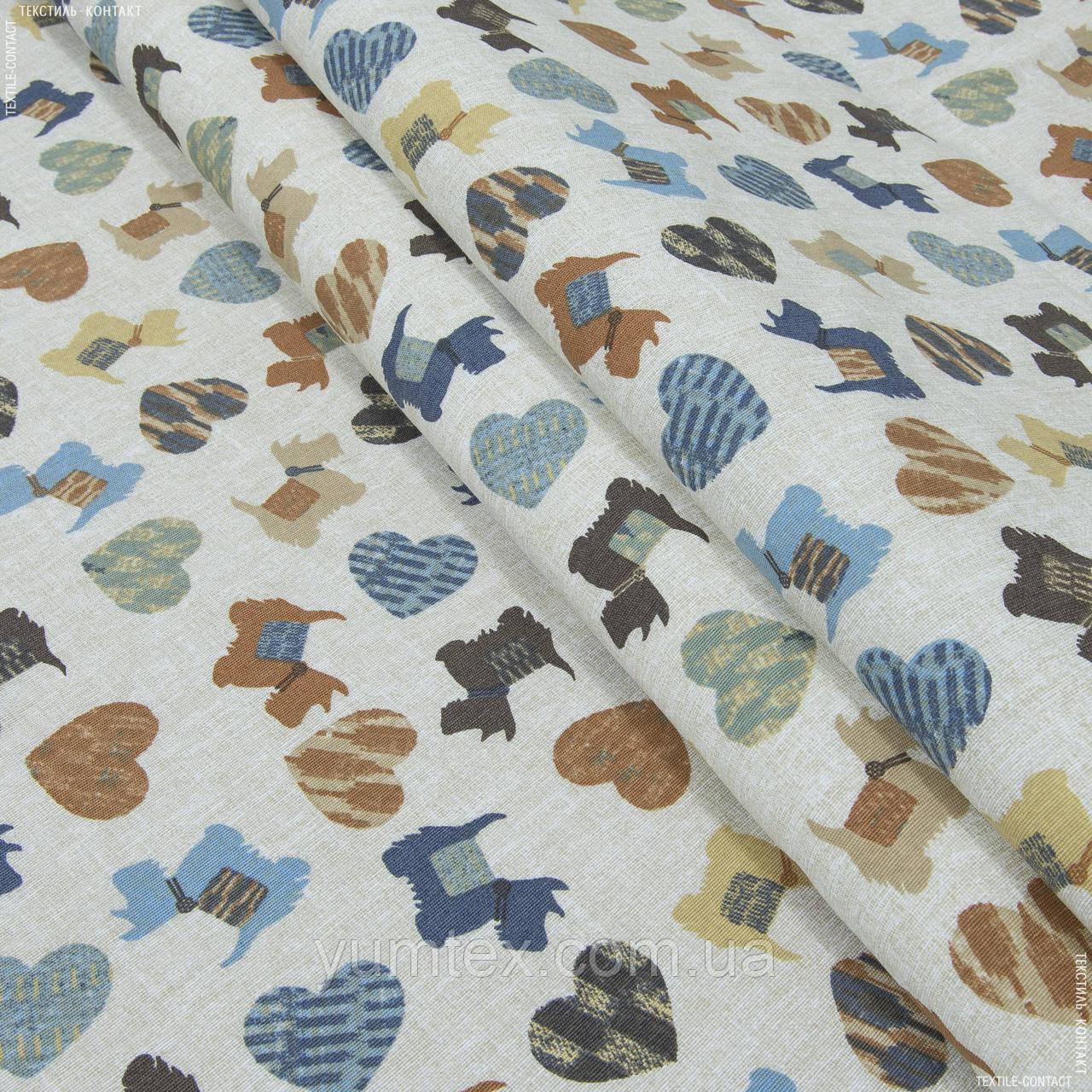 Декоративная ткань догги 133566