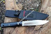 Нож универсальный   для трудных работ 95Х18  5 мм ,цельный лист.