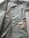 Демисезонное шерстяное пальто с напылением Sicilia Размеры 134  140 152 164 ТОП продаж!, фото 5