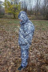 Теплый  Костюм для рыбалки и охоты  камуфляж зимняя Зимний камыш  ,непродувемый,непромокаемый (Хит сезона)