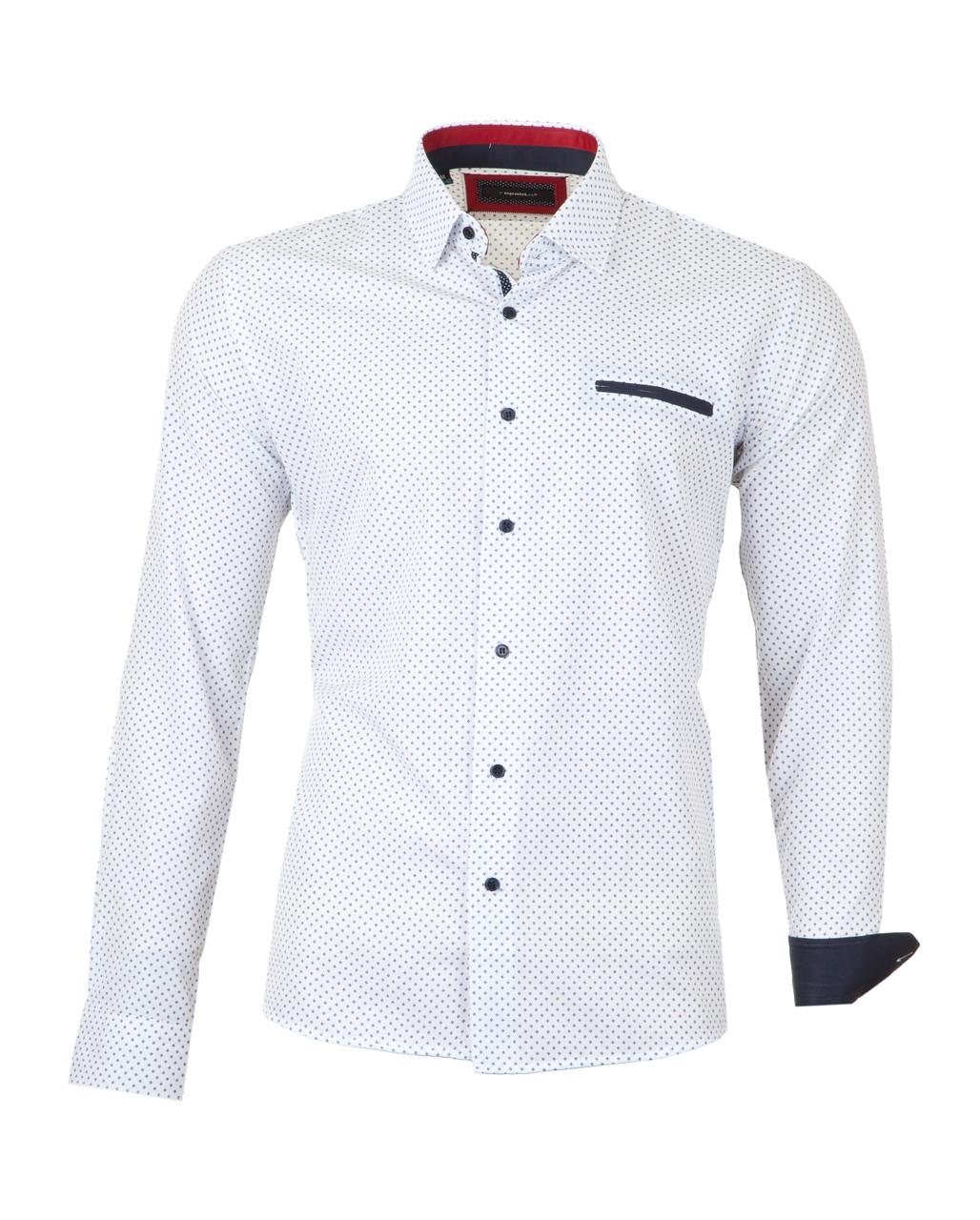 Рубашка мужская Pitto Белая