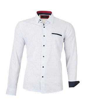 Рубашка мужская Pitto Белая, фото 2