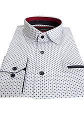 Рубашка мужская Pitto Белая, фото 3