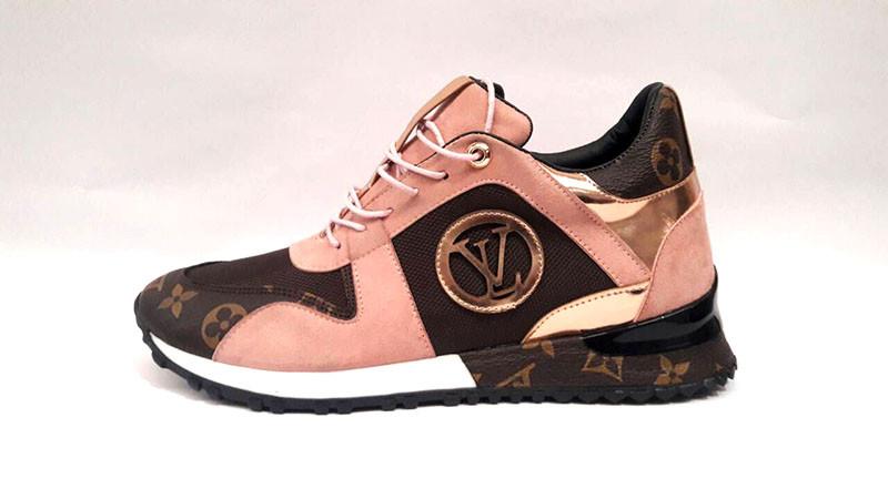 28a9e56f9502 Женские кроссовки Louis Vuitton кожаные цвета разные 0287КФМ, ...