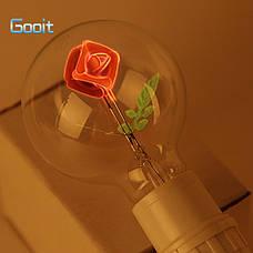 Лампочка с розой внутри подарок любимой девушке, лампа розочка, фото 2