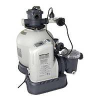 Песочный фильтр-насос с хлоргенератором Intex 28680