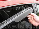 Дефлекторы окон (ветровики)  Toyota Avensis 2003-2009 Wagon 4шт (Heko), фото 6