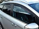 Дефлекторы окон (ветровики)  Toyota Avensis 2003-2009 Wagon 4шт (Heko), фото 8