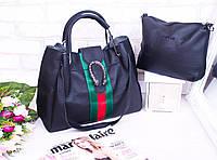 Женская классическая сумка-двойка для повседневного использования