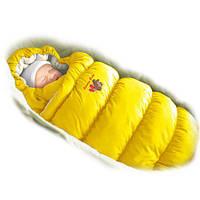 """Детский конверт зимний / деми """"Ontario Linen"""" серия """"Inflated"""" (до 1 года; от +5 до - 17 градусов))  (Скидка н"""