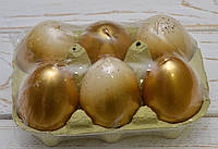 Свеча декоративная у форме яйца микс