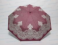 Жіночий напівавтомат зонт двосторонній, фото 1