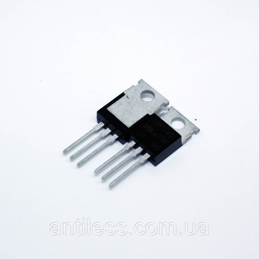 ТРАНЗИСТОР MOSFET N-канал IRF740 IRF740PBF TO-220