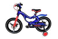 Детский двухколесный велосипед Hollicy 16 магневая рама синий MH1611-434, фото 1